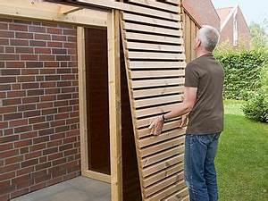 Gartenhaus Anbau Hauswand : streng geometrisch sollte sie sein die fahrradgarage keine ebenso notwendige wie l stige ~ Orissabook.com Haus und Dekorationen