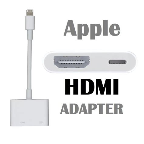 iphone to hdmi adapter genuine apple lightning digital av hdmi adapter to suit