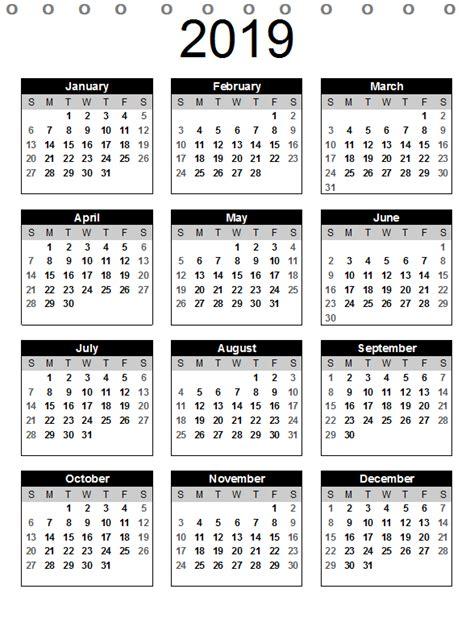 desk calendar  printable template
