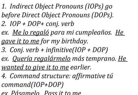 161 qu 233 divertido indirect and direct object pronouns