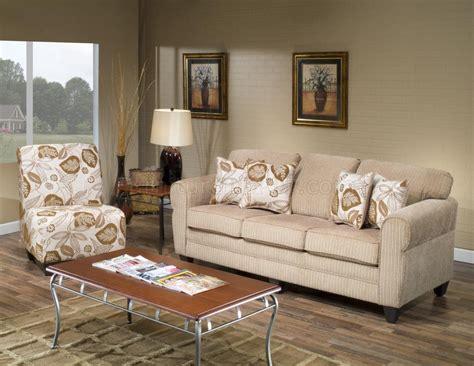beige fabric modern sofa accent chair set woptions