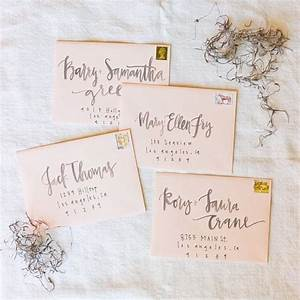 best 25 calligraphy envelope ideas on pinterest With hand addressed wedding invitations cost