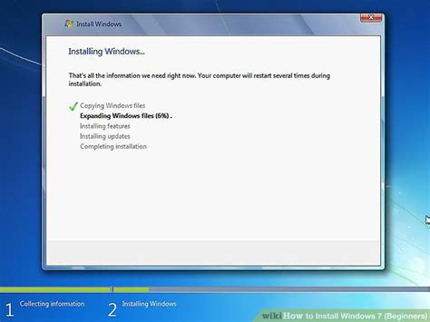what is windows installer how to install windows 7 beginners with pictures wikihow