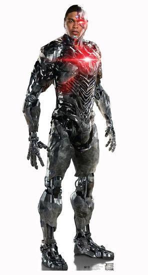 justice league cyborg cardboard cutouts  allposterscom