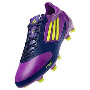 NEW-Womens-ADIDAS-F50-ADIZERO-TRX-FG-Purple-Yellow-Soccer ...
