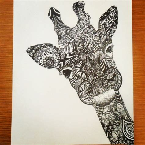 animal zentangle tumblr