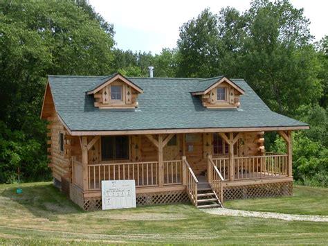 build log cabin homes pre built log cabins diy cabins kits treesranchcom