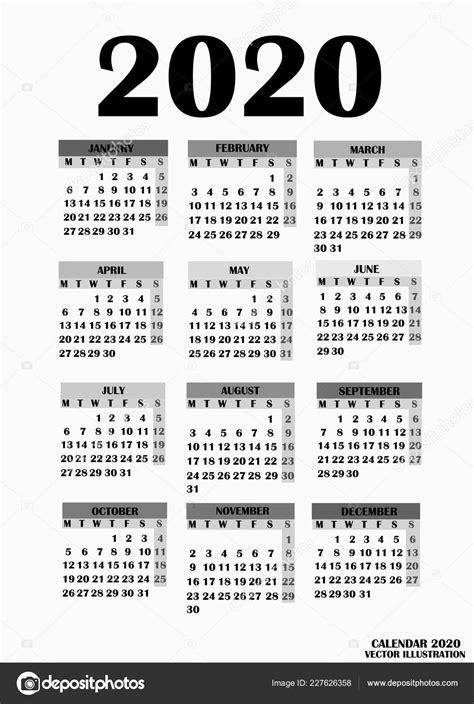 projeto simples calendario vetores de stock innabelavi