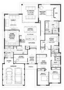house plans with and bathrooms floor plan friday 4 bedroom 3 bathroom home floor plans bedrooms