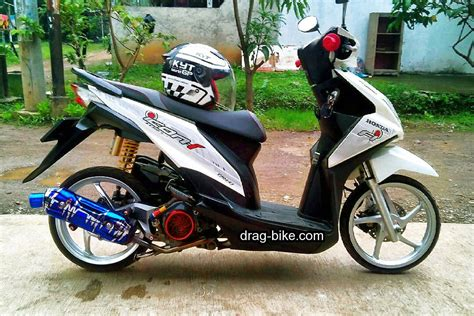 Beat Modif Standar by Modifikasi Honda Beat Fi Hitam Velg 14 Automotivegarage Org