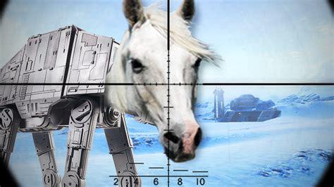 Kill The Ugly Horse!! (star Wars