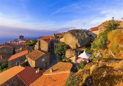 Portugal Village Monsanto Villages Visit Architecture Background