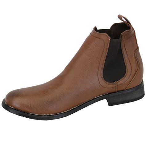 mens designer boots mens chelsea boots dealer high ankle leather look shoes
