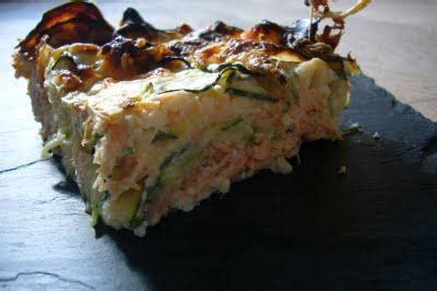 Gratin De Courgettes Fondant Simple - gratin fondant de courgettes au saumon 192 lire