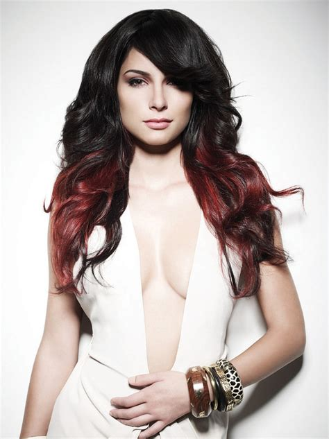 The Right Shade Of Black Hair choose the right shade of highlights and lowlights for