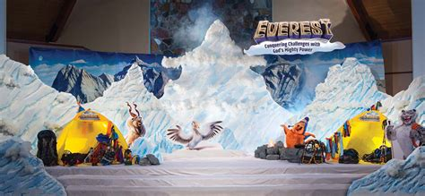 Decorating Ideas For Vbs 2015 by Everest Vbs 2015 Theme By