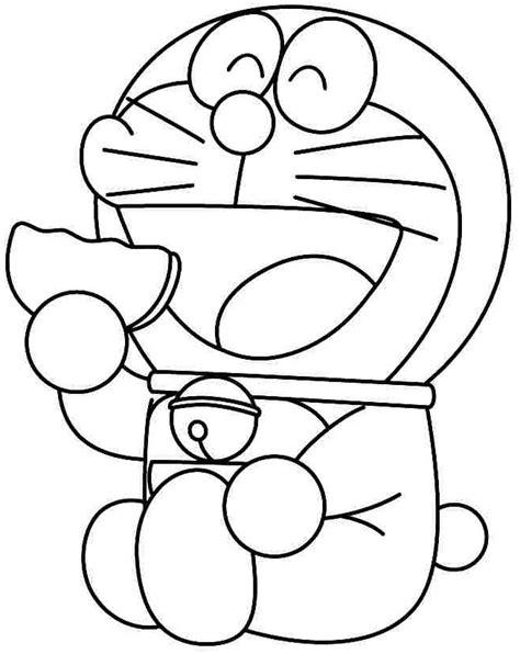 kumpulan gambar mewarnai kartun doraemon terbaru
