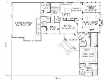 Smart Placement L Shaped Ranch House Plans Ideas by Plan 055h 0004 Find Unique House Plans Home Plans And
