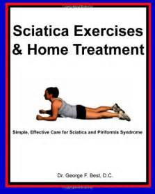 Sciatica Home Treatment Exercises