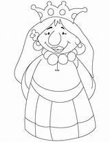 Queen Coloring Pages Cartoon Drawing Bee Getdrawings Romeo Mab Juliet sketch template