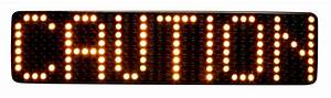 M5 Matrix Sign  Hd0012 Series
