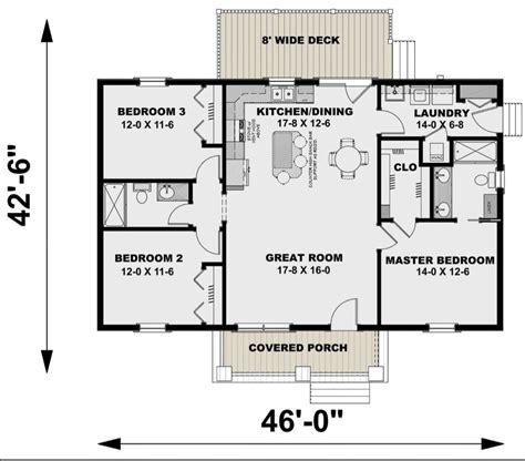 House Plan 1776 00100 Modern Farmhouse Plan: 1 311