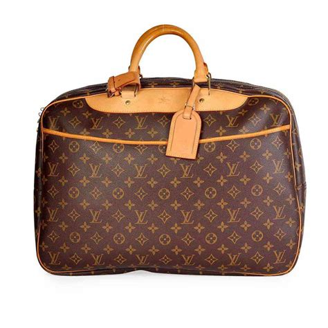 louis vuitton vintage monogram alize  poches travel bag