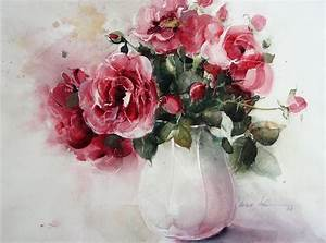 Aquarell Malen Blumen : heinz hofer rosen pinterest blumen motive zum malen ~ Articles-book.com Haus und Dekorationen