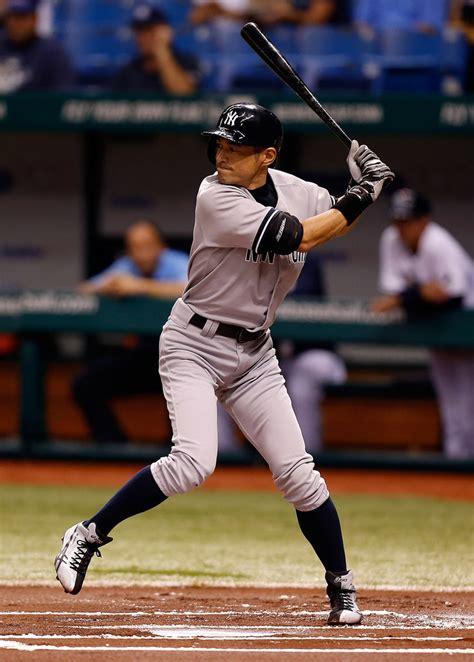 Suzuki Yankees by Ichiro Suzuki In New York Yankees V Ta Bay Rays Zimbio
