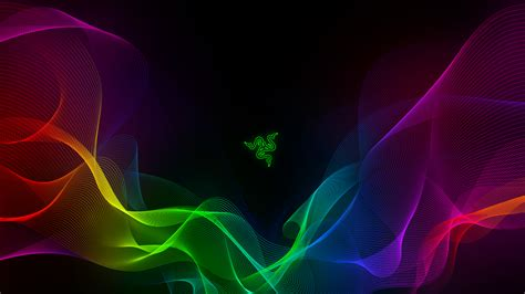 Animated Wallpaper Razer - wallpaper razer abstract colorful waves 4k technology