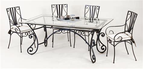 chaises fer forgé cuisine chaise de salle ã manger design lot de