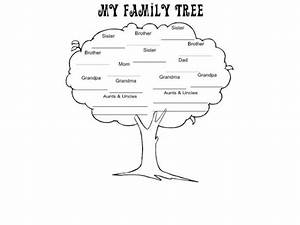 Family Tree Project For 2nd Grade