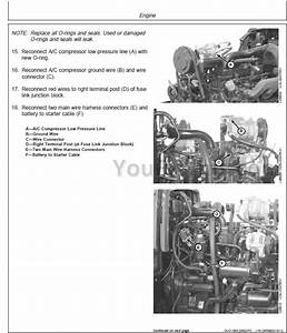 John Deere 5220 5320 5420 5520 Repair Manual  Tractor