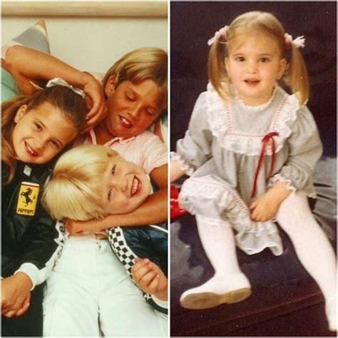 ivanka trump transformation baby eric tr dramatic 1981 donald daughter ivana she genmice looks jr