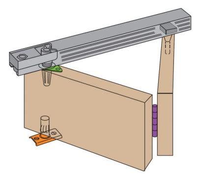 henderson  bi fold sliding folding door gear henb