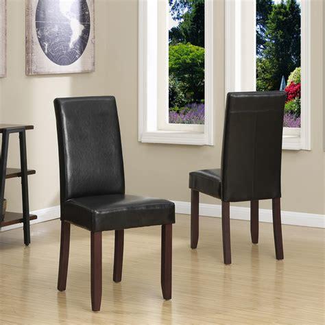 amazoncom simpli home acadian parson dining chair