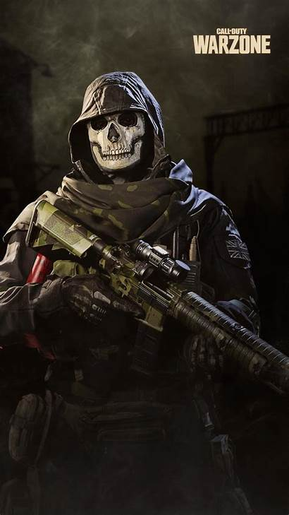 Duty Call Warzone Ghost Wallpapers Cod Warfare