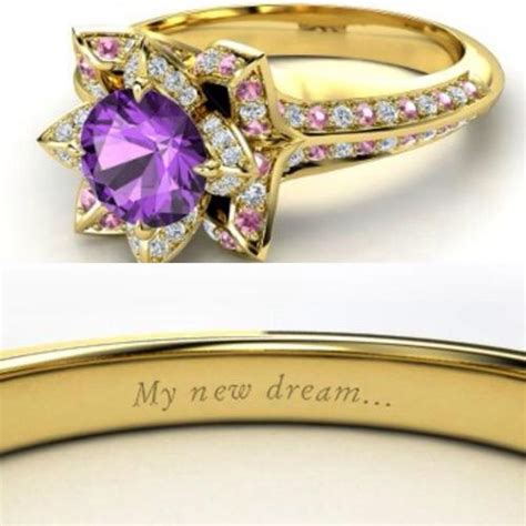 gorgeous disney princess inspired engagement rings musely