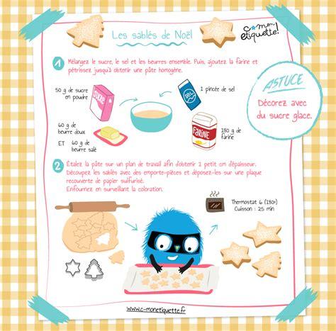 recettes de cuisine pour enfants recette sablés de noël atelier noël et