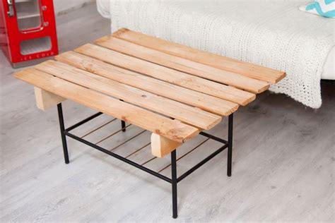 salontafel uit paletten een tafel van pallets dailytrend
