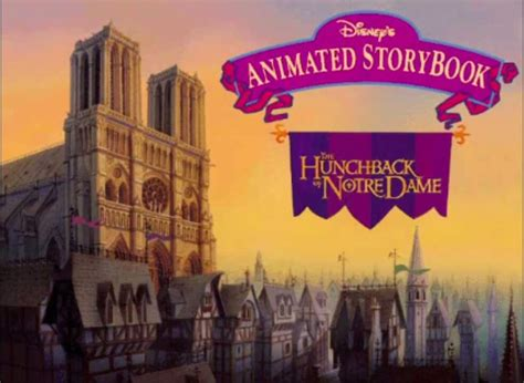 disneys animated storybook  hunchback