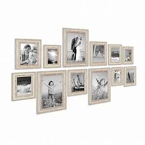 Bilderrahmen Vintage Set : 12er set vintage bilderrahmen weiss shabby chic 10x15 13x18 15x20 und 20x30 cm inkl zubeh r ~ Buech-reservation.com Haus und Dekorationen