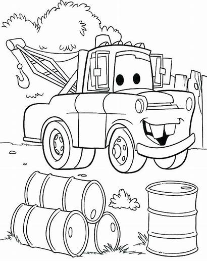 Coloring Pages Transportation Preschool Truck Army Rig