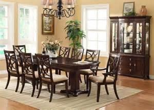 cherry dining room set crown 7 pc katherine transitional dining room set in cherry finish transitional