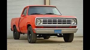 1974 Dodge D100 361 Mopar Big Block Exhaust Sounds