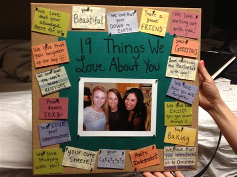 birthday present for my best birthday gift for best friend bulletinboard gift best 19314
