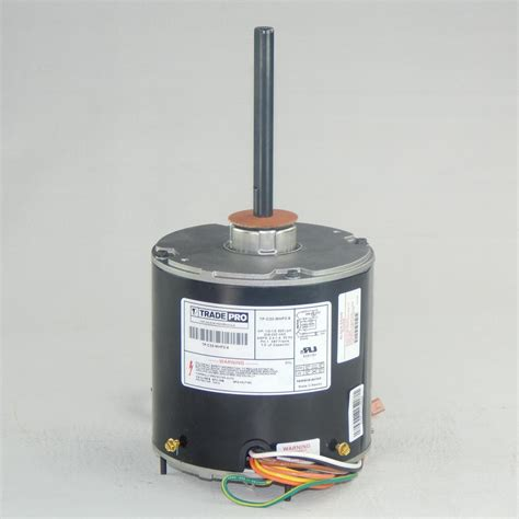 fan capacitor home depot century 1 3 hp condenser fan motor fse1036sv1 the home depot