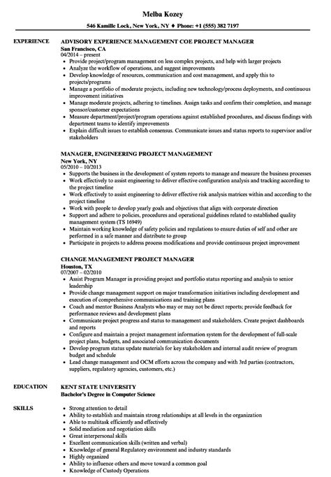 Retail Resume Sle by Bank Project Manager Resume Sle Exle Retail Sle In