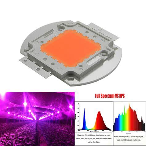 Cob Led Grow Light Review by 1pcs Wholesale 400nm 840nm Spectrum Led Grow Chip 50w
