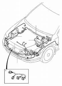 Volvo V70 Xc Wiring Harness  Auto Trans  Diesel  Engine